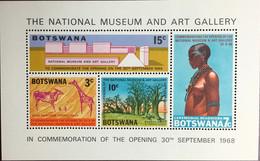 Botswana 1968 National Museum Minisheet MNH - Botswana (1966-...)
