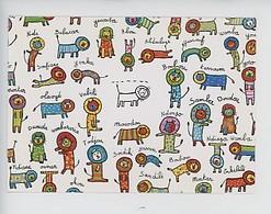 Les Lions  (nouvelles Images) Andrée Pringent Illustratrice (fantaisie Prénom Cp Vierge) Soufiane Samba Kassoum - Humor
