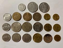 Lot De Monnaies Monaco - Otros