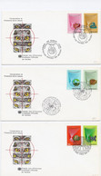 Verenigde Naties Geneve 3 FDC  19-11-82 (1079) - Covers & Documents