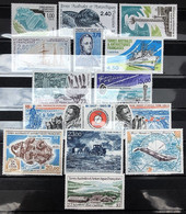 TAAF 1996, Poste N° 203/212 ; Poste Aérienne N° 137/140, Luxe, Timbres Juste Magnifiques - Komplette Jahrgänge