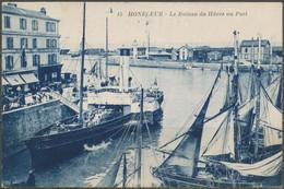 CPA - HONFLEUR - Le Bateau Du Hâvre Au Port - Honfleur