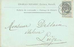 CP/PK Publicitaire BRUGGE 1902 - Entête CHARLES BEYAERT Editeur à BRUGES - Brugge