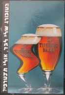 ISRAEL TUBORG BEER BEVERAGE FOOD CULINARY ADVERTISING AD NOTICE ANNOUNCEMENT CARTE POSTCARD PC CARTOLINA CARD PHOTO - Israele
