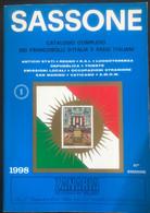 Sassone - Catalogo Completo Die Francobolli D'Italia E Paesi Italiani 1998  - Ref 435 - Used - 1040p. - Italia