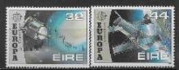 Irlande 1991 N° 762/763 Europa L'Europe Et L'espace - 1991