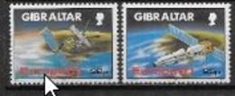 Gibraltar 1991 N° 622/623 Europa L'Europe Et L'espace - 1991
