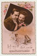 Carte Fantaisie - Ange Soldat Casque Et Canon - Couple - Amour - Coeur - Engelen