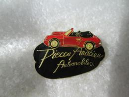 RARE   PIN'S      PORSCHE   911  CABRIOLET    PIERRE ANDRIEU   AUTOMOBILES - Porsche
