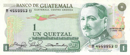 Un Quetzal Guatemala 1984 UNC - Guatemala