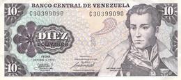 10 Bolivares Venezuela 1981 AU/EF II - Venezuela