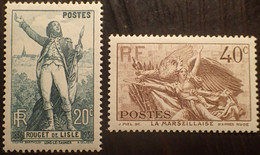 R1491/322 - 1936 - N°314 à 315 NEUFS** QUALITE LUXE - TRES BON CENTRAGE - Nuovi
