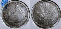 URUGUAY 20 CENTESIMOS 1930 Km#26 SILVER (G#02-24) - Uruguay