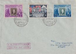 SAN MARINO  1947 FDC - FDC