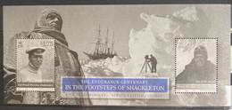 Isle Of Man 2016 MNH - The Footsteps Of Shacketon . Ship - Isla De Man