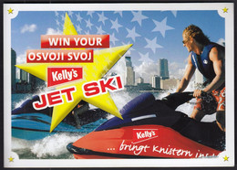 Croatia 2004 / Kelly's Jet Ski / Prize Game / Advertising - Publicidad