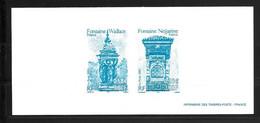FRANCE GRAVURE TIMBRE  FONTAINE WALLACE  FONTAINE NEJJARINE  Excellent état - Documenten Van De Post