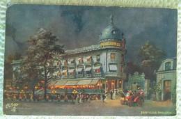 CPA 92 - SAINT-CLOUD - PAVILLON BLEU - ILLUSTRATEUR RESTAURANT NUIT - Saint Cloud