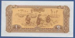 CAMBODIA - P.28a –  1 Riel 1979  UNC - Cambogia