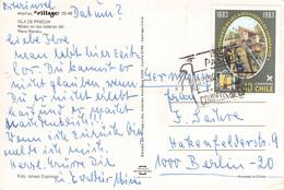 ISLA DE PASCUA/CHILE - PICTURE POSTCARD 1985 > BERLIN/DE / QF30 - Rapa Nui (Easter Islands)