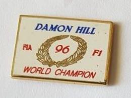Pin' S  Blanc  Sport  Automobile  F I A  96  F 1  D.  HILL  WORLD  CHAMPION - F1