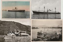 Lot 53 Ansichtskarten Motiv Schiff Und Seefahrt Querbeet Mit älteren Karten - 5 - 99 Postkaarten