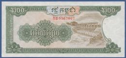 CAMBODIA - P.37a –  200 Riels 1992  UNC - Cambogia