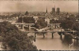 PARIS : Notre-Dame Et Les Ponts (envoi Vers Léopoldville - Kalina - Congo Belge) - Notre Dame De Paris