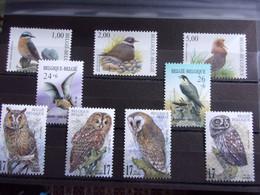 BELGIQUE, BELGIE BELLE LOT OISEAUX, VOGELS BIRDS NEUF** DEPART 1 EURO - 1952-....