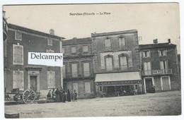 SERVIAN (34) -  La Place  -  (Grand Café Et Grand Hôtel) - Other Municipalities