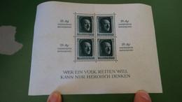 Allemagne - 1937 - Bloc-feuillet N° 8 - Neufs - TB  ........ Page5 - Bloques