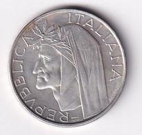 ITALIA 1965 500 LIRE DANTE ARGENTO OTTIME - 500 Liras