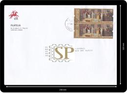 Portugal 2014 Embaixada De Manuel I Papa Leão X Ambassade Du Roi Manuel Ier Près Le Pape Léon X  Ambasciata - Covers & Documents