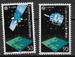 Liechtenstein 1991 N° 952/953 Europa L'Europe Et L'espace - 1991