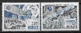 Monaco 1991 N° 1768/1769 Europa L'Europe Et L'espace - 1991