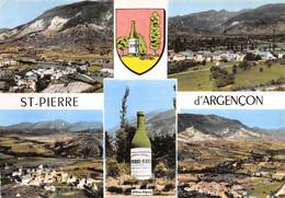 CPSM 05 ST PIERRE D ARGENCON MULTI VUES      Grand Format  15 X 10,5 Cm - Otros Municipios