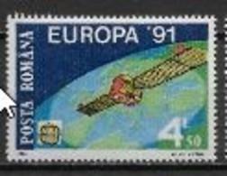 Roumanie 1991 N° 3932 Europa L'Europe Et L'espace - 1991