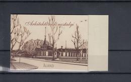 Aland Inseln Michel Cat.No. Mnh/** Booklet 20 - Aland