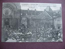 CPA 21 DIJON Funérailles Du Commandant Ballet Mort Dans La Catastrophe De DIJON PERRIGNY 1908  ANIMEE - Dijon