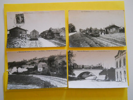 Photo T I V  ,TRAMWAY Collection Bourneuf ,lire Descriptif  , Bain ,treffendel ,Saint-Thurial - Reproductions