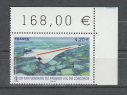 FRANCE / 2019 / Y&T PA N° 83 ** : 50 Ans Du 1er Vol Du Concorde (de Feuille) X 1 CdF Sup D - 1960-.... Mint/hinged