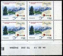 COIN DATE N° 4441 RATTACHEMENT DE LA SAVOIE A LA FRANCE TD 202 Du 04/02/2001 NEUF ** - 2000-2009