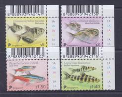 Singapore 2021 Tetra Fish Definitives MNH - Peces