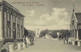 ROOSTEREN - Ca 1915 - Grens Met Hotel De La Frontière - Non Classificati