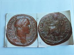 Sesterce D'Alexandre Sévère Tête à Droite Rv/ Rome Aeternae Assise à Gauche - 4. La Dinastía De Los Severos (193 / 235)