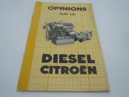 Petit Livret Opinion Sur Le Diesel Citroen - Auto