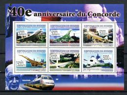 Thème Général De Gaulle - Guinée Yvert 985 - Concorde - Neuf Xxx - Lot 332 - De Gaulle (Generale)