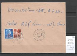 Reunion - Lettre SAINT JOSEPH -1960 - Storia Postale