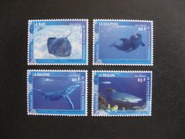 Polynésie: TB Série N° 824 Au N° 827 ,neufs XX . - Nuovi