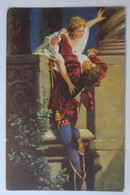 Künstlerkarte, Frauen, Männer, Romeo U. Julia,1918, Hans Makart, Stengel♥(42188) - 1900-1949